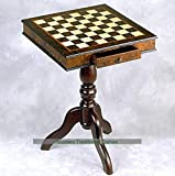 Giglio 51cm Wooden Chess Table (51mm Squares)
