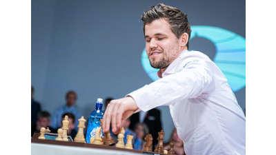 Magnus Carlsen. Campeón del mundo de ajedrez. Uno de los mejores jugadores de ajedrez de la historia.