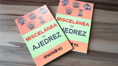 miscelánea de libros de ajedrez